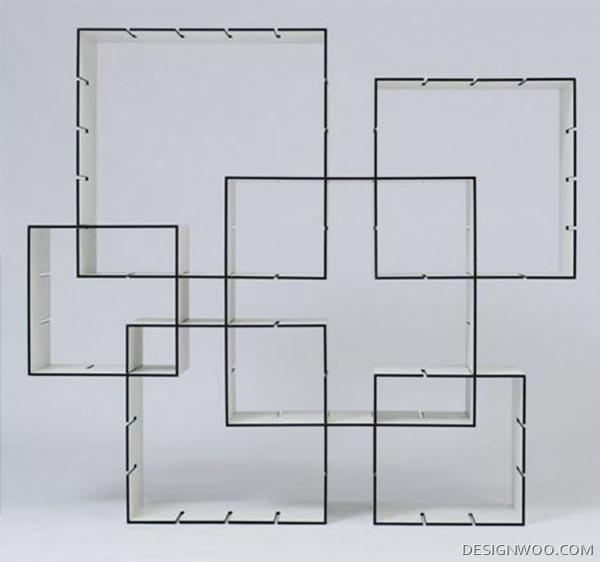 Konnex : Modern Slide Shelves System