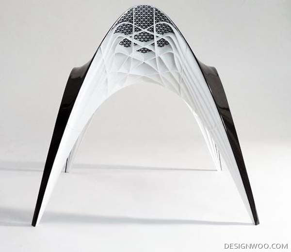 Gaudi Chair : Futuristic Design By Bram Geenen