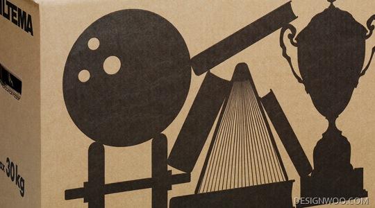 Biltema Moving Boxes Designed By Emanuel Sendel