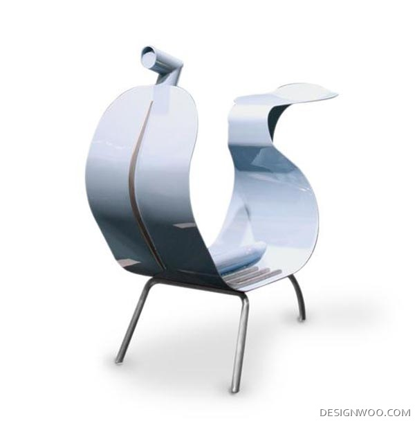 Vespino: Unique Chairs Designed By Gio Tirotto And Hafsteinn Juliusson