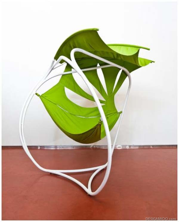 Rhizome Chair: Tensioned Fabric Furniture Designed By Pratt Institute