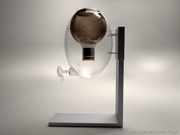 Aquaovo Inspired Water Dispenser by Manuel Desrochers
