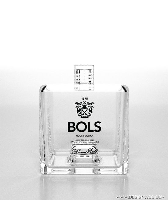 Bols 1575 Vodka Bottle Design