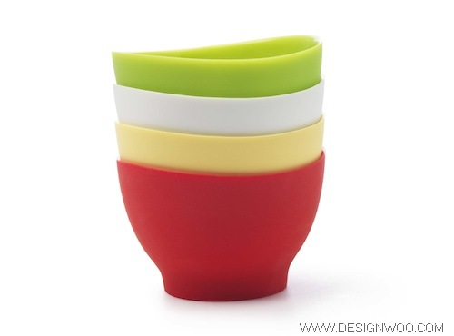 Flex-It Bowls and Measuring Cups Design by iSi