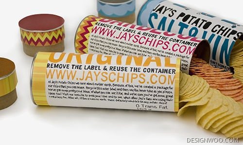 Jay'S Chips Packaging Design
