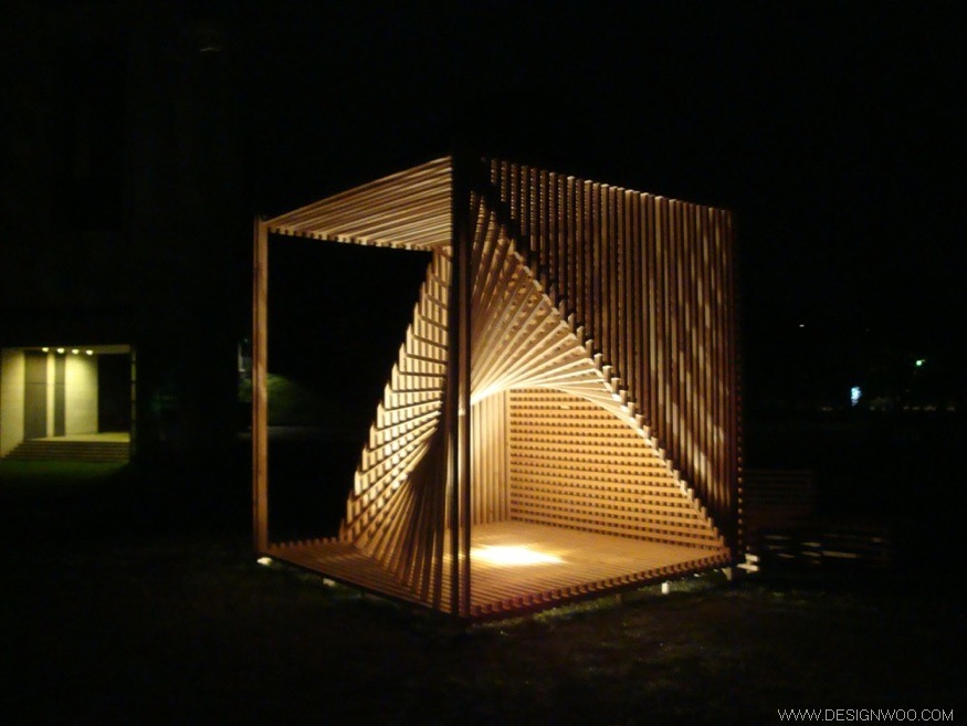 ORGANIC CUBE Space Design by danish architect Søren Korsgaard