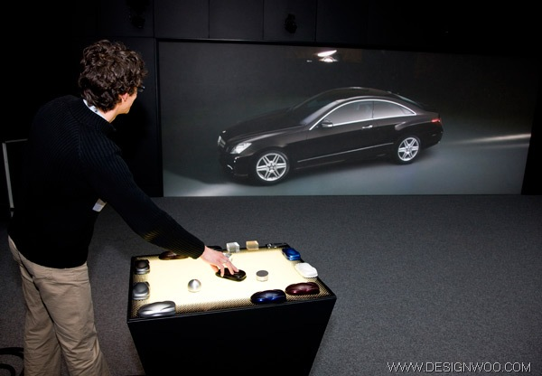 Mercedes-Benz's Design Studio Powerwall