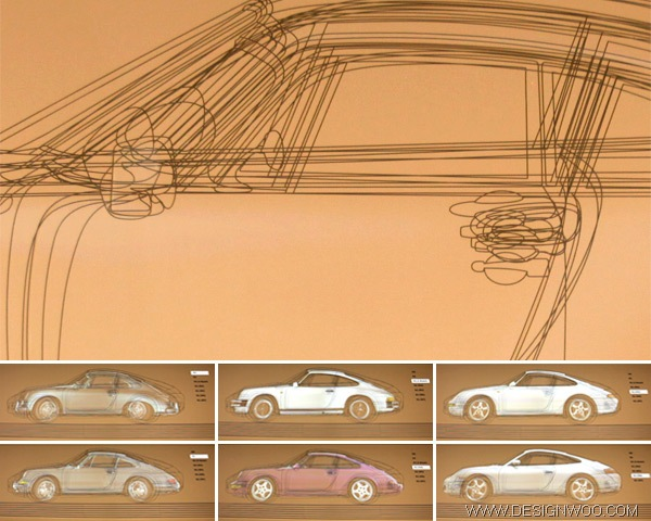 Porsche 911 Evolution Car Design