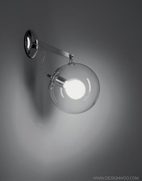 Artemide Miconos Collection glass globes light design
