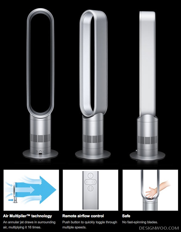 Dyson Tower And Pedestal Fans