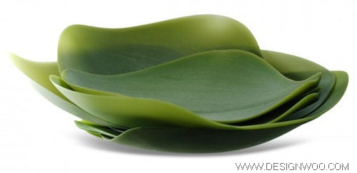 seasons platos con-forma-de-hojas Seasons :: leaf-shaped dishes design