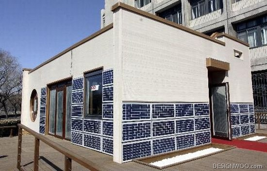 Tianjin University Builds Zero-Energy Solar House For Solar Decathlon 2010